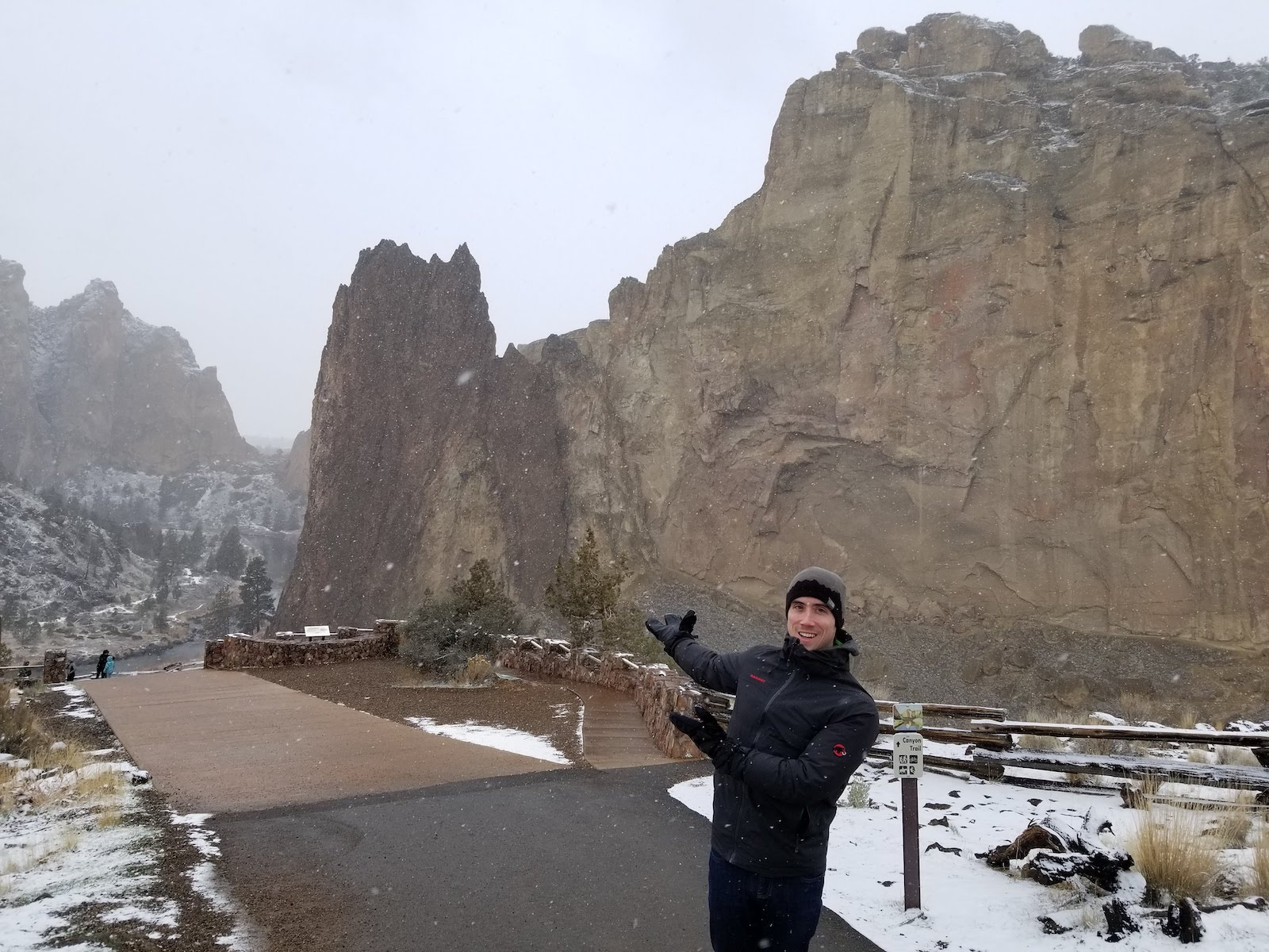 Jake at Smith Rock